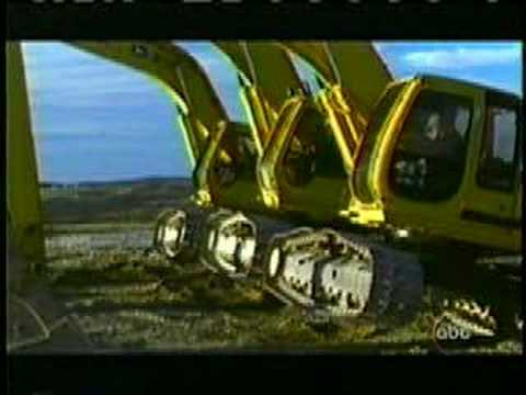 Big Machines Dancing ( Ballet Excavators )