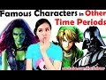 Draw Famous Characters In Other Time Periods!  Characters Reimagined  New Art Challenge!  Mei Yu