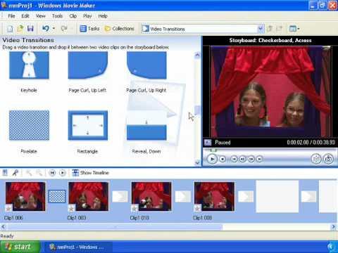 Movie Maker Video Editing Tutorial