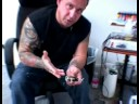 Beginning Tattooing Tips : How To Setup A Traditional Tattoo Machine