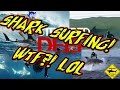 SHARK SURFING! ► Stranded Deep ► Shark Surfing Challenge ► How to Surf the Creatures of the Sea!