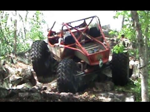 Extreme 4x4 rock buggies crawling on the yellow trail by BSF Recovery Team