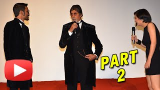 Amitabh Bachchan, Dhanush, Akshara Haasan At SHAMITABH Trailer Launch | UNCUT | Part 2