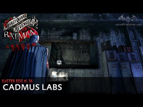 Batman: Arkham City - Easter Egg #34 - Cadmus Labs (Harley Quinn's Revenge)