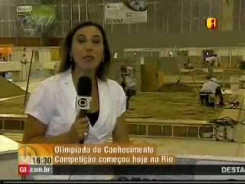 Olimpíada do Conhecimento em destaque - Globo News Em Cima da Hora