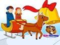 """Jingle Bells""   Busy Beavers Christmas Song, Babies, Toddlers, Preschool Sing-Along"