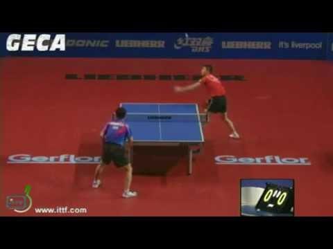 Ma Long vs Chuang Chih Yuan[LIEBHERR 2012 Men's World Cup 2012]