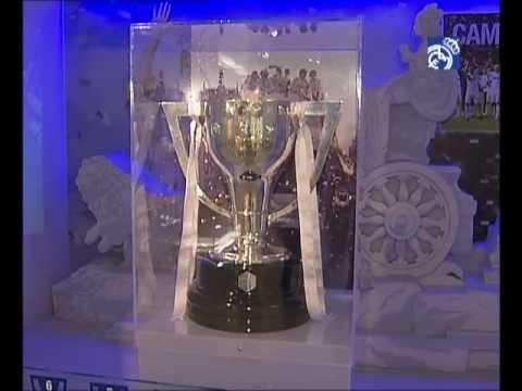 La Liga ya está expuesta en el Museo Real Madrid