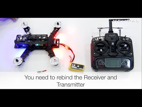 How to Rebind a Storm Racing Drone - HeliPal.com - UCGrIvupoLcFCW3CIKvfNfow