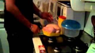 Como hacer un pollo asado