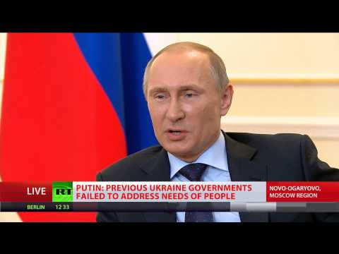 Putin: Yanukovich has no political future, I don't sympathize with him  (Russia)
