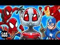 WHAT IF ANT-MAN DID THIS TO THE AVENGERS【Marvel Superheroes Parody】