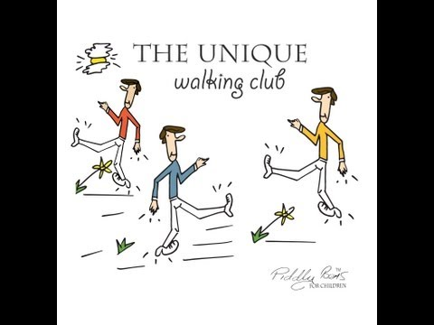 """The unique walking club""  poems for children .. Kid's poem book from the UK  Kid's learn English"