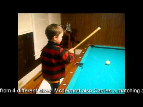 Pool and Billiards trick shots by 3 year old pool prodigy Keith ODell jr