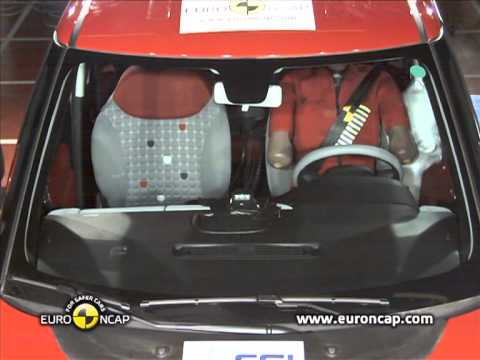Euro NCAP | Fiat 500L | 2012 | Crash test