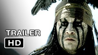The Lone Ranger Official Trailer (2012) - Johnny Depp Movie HD