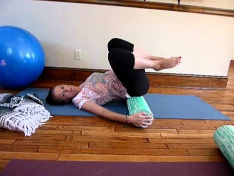 foam roller exercise for scoliosis - spinal fusion.MOV