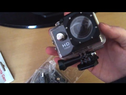 Review & Unboxing GoPro Hero Clone HD Sports Action Video Camera SJ4000 A9 Alibaba & Aliexpress