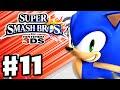 Super Smash Bros. 3DS - Gameplay Walkthrough Part 11 - Sonic! (Nintendo 3DS Gameplay)