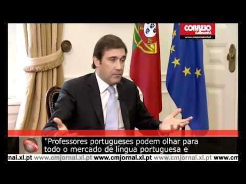 Entrevista ao Jornal Correio da Manhã de Pedro Passos Coelho - Emigração