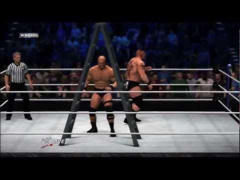 WWE 12 Inside the Ring - Brock Lesnar vs Stone Cold Steve Austin (Official)