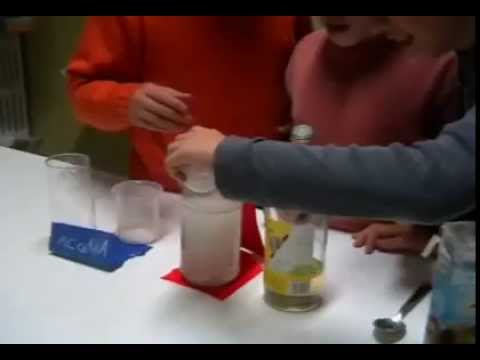 Naftalina Ballerina - esperimento di chimica