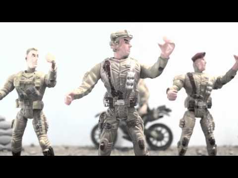 Groove Soldiers feat.Domme - O' surdato 'nnammurato (Video Lyrics)