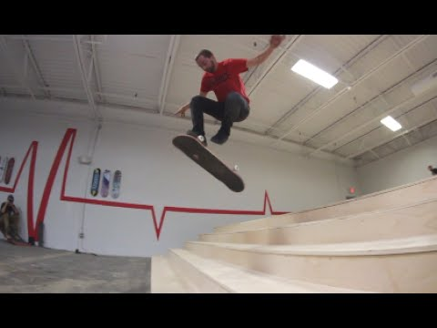 REVIVE SKATEBOARD'S PRIVATE STAIR SET!