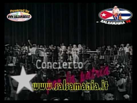 """Manolito y Su Trabuco - Cierre con todos los artistas - -  En Vivo Concierto """"Cuba Por La Patria"""""""