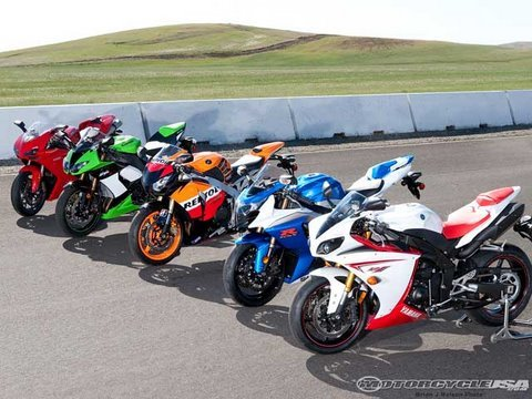 2009 Superbike Comparison Review