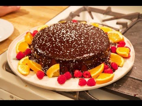 SoGood.TV: Orange and Chocolate Cake