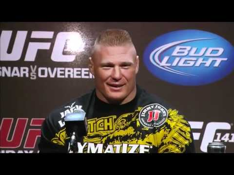 UFC 141 Press Conference