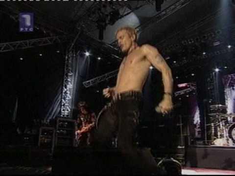 Billy Idol - Rebel Yell  (live at Exit) 2006, Serbia, Novi Sad