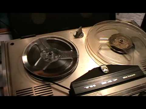 Grundig Tape  Recorder TK 247 (1967/8)  Deluxe  Restoration (Project 2010 Pt 2 of 2)