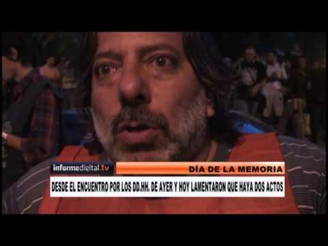 <b>24 de Marzo.</b> Dos actos con críticas a Macri en Paraná