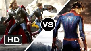 The Avengers vs The Amazing Spider-Man - Which are You More Excited For? - HD Movie
