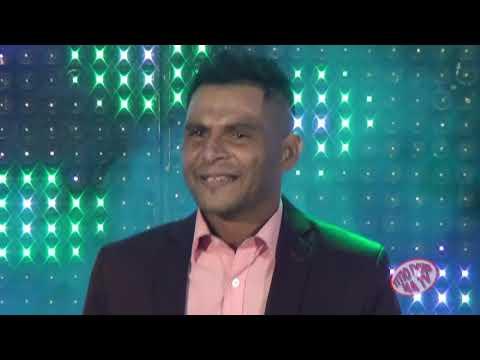 LUIZ SILVA CANTOR GOSPEL SE APRESENTANDO NO PROGRAMA TITIO DONI NA TV .
