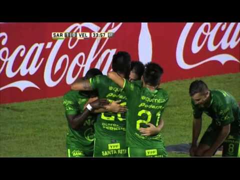 Sarmiento venció a Vélez en el cierre de la primera fecha
