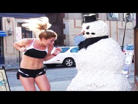 Funny Snowman Prank Season 2 Episode 1