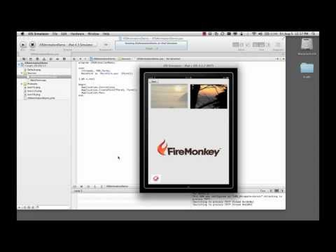 Delphi XE2 and FireMonkey Application on Windows, Mac and iOS