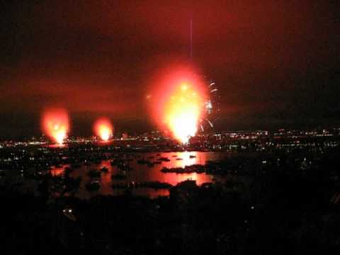 The Big Bay Boom San Diego Firework Show 2012