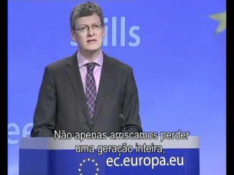 Comissão europeia contra emigração de jovens