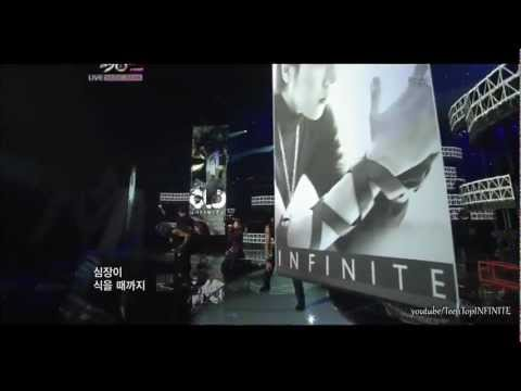HD | 110930 | INFINITE (인피니트) - Paradise | Comeback Stage | September 30, 2011