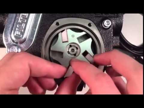 Видеоинструкция по замене лопаток на насосах Piusi Panther