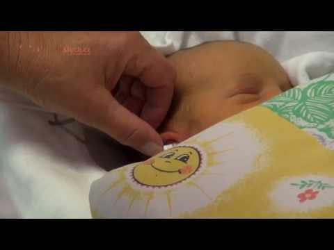 Vyšetření sluchu v porodnici