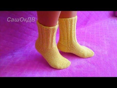 Мк по вязанию носков на 5 спицах 52