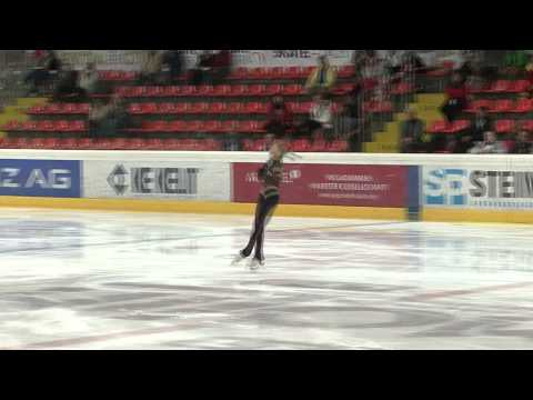 23 Elena RADIONOVA (RUS) - ISU JGP Austria 2012 Junior Ladies Short Program