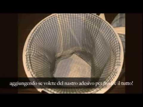 COMPOSTAGGIO DOMESTICO: compostiera fai da te - hand-made compost