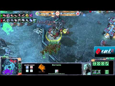 IPL S2 - Winners Round 3 - IdrA vs mOoNan - Game 2 of 3