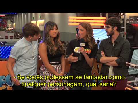 GLEE - Comic Con 2012 'Booth Questions' (Parte 2) | LEGENDADO